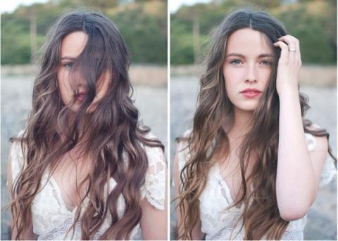 Những thay đổi nhỏ giúp bạn đỡ chán mái tóc dài cũ kĩ 10
