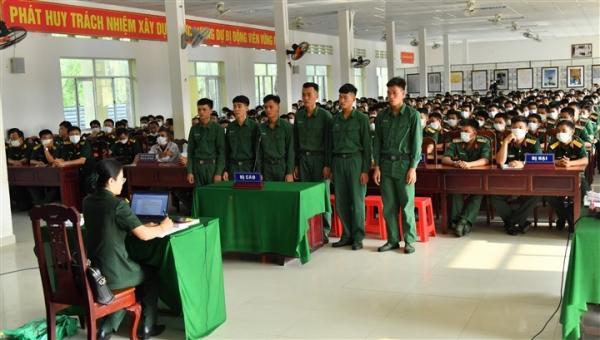Đánh cấp trên và đồng đội, 6 quân nhân ở Kiên Giang lĩnh án tù