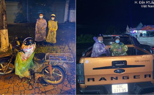 Dắt túi đúng 90k, đi 300km về chịu tang cha, 2 anh em xin qua chốt kiểm dịch và cuộc gặp bất ngờ trong đêm